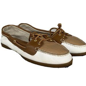 Sperry Top-Sider Audrey Slip-On Boat Shoe Leather